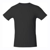 Черная футболка 160