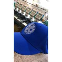 Вышивка круглого логотипа на бейсболке